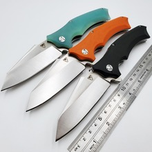 Snake Folding Knife 9Cr18Mov Blade Army Outdoor Survival Diving Tactical Pocket Knives Camping Utility Combat Hunting EDC Tools c185 stone wash folding knife hunting tactical survival combat knives camping edc utility tools titanium handle cpm v10 blade