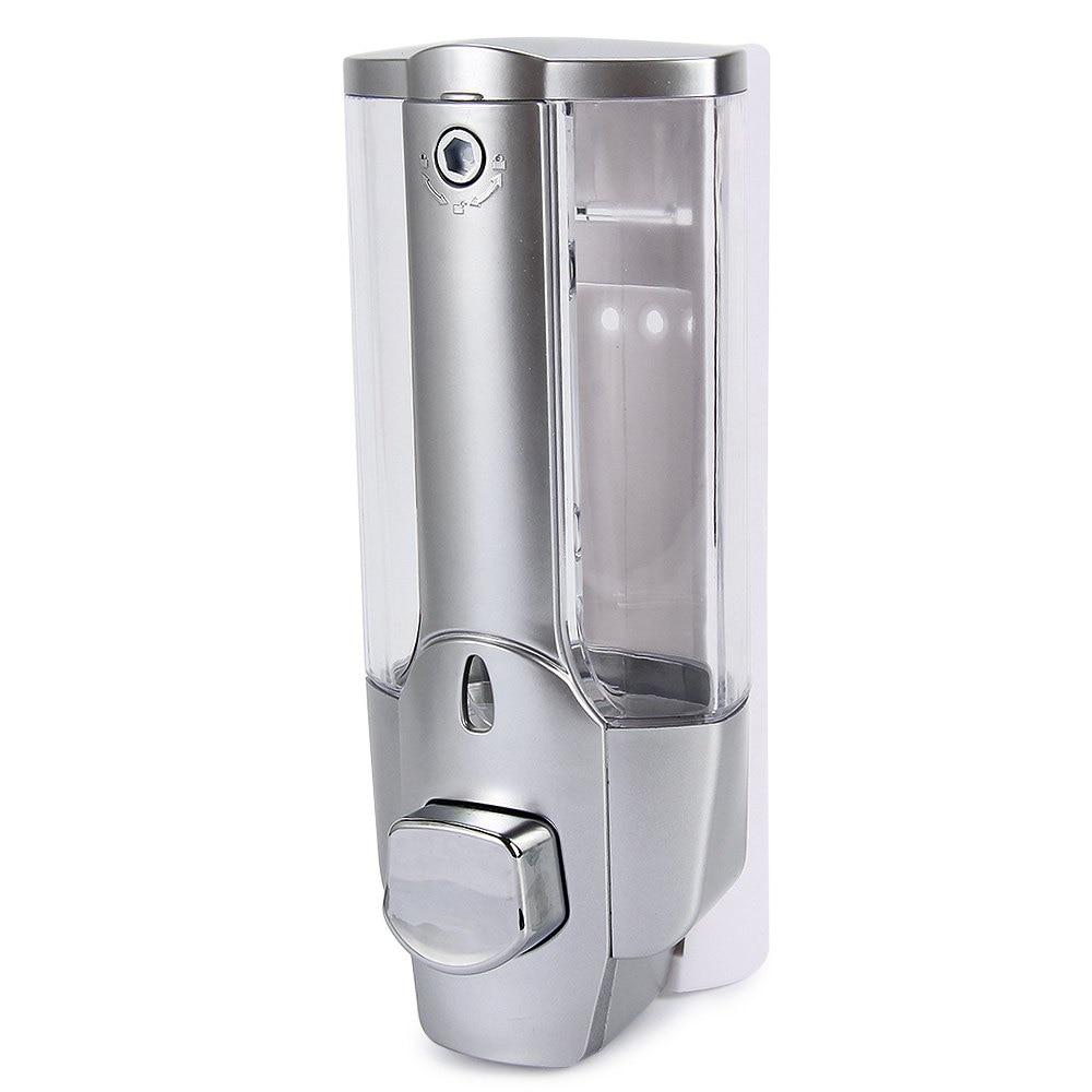 350ml wall mount shower bath liquid soap shampoo dispenser kitchen sink soap dispenser with a lock