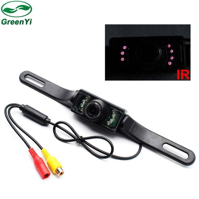 GreenYi Car DVR Backup CMOS NTSC System Camera Waterproof Reversing Backup IR LED Night Car Rear View Camera