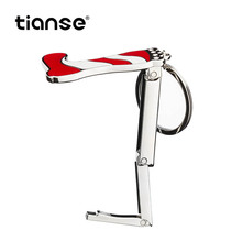 Tianse Office Supplies Metal Material Stylish In Appearance Foldable Design Portable Purse Hook For Women Female Girl Gift
