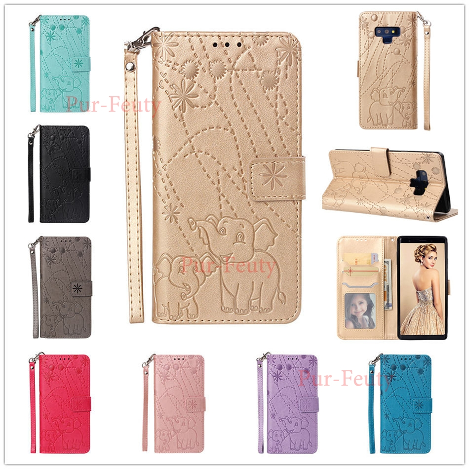 Case For Samsung Galaxy Note 9 Sm-n960f/ds Saiensi 8 Colors Fireworks Elephant Flip Leather Wallet For Samsung Galaxy Note9 N960 At Any Cost