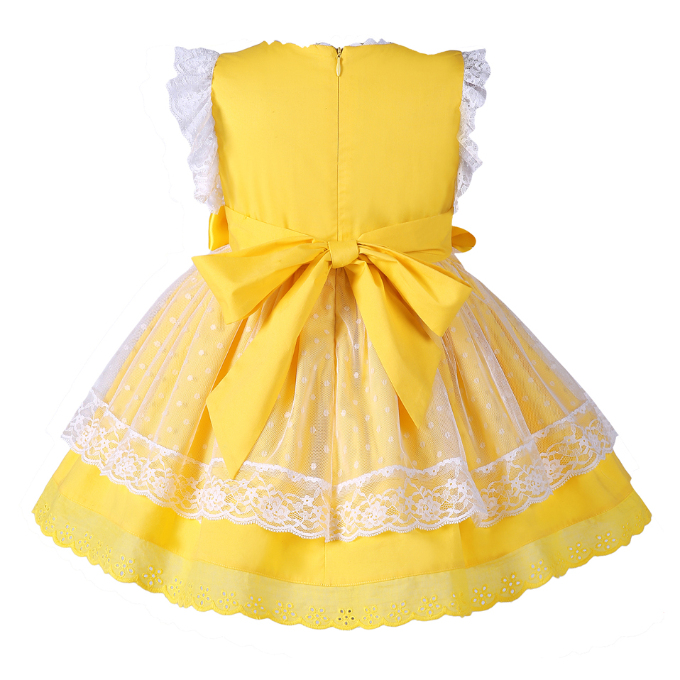 Pettigirl New Girls Easter Dress Summer Yellow Cotton Kids Dress With  Headwear Clothes G DMGD101 B171-in Dresses from Mother   Kids on  Aliexpress.com ... b72de03668a1