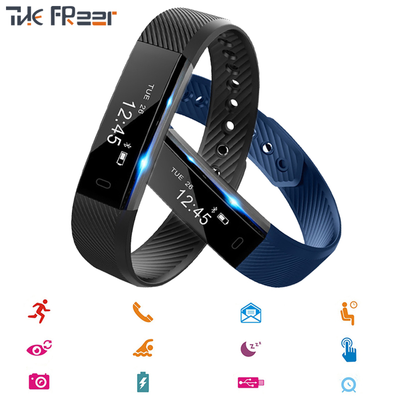 Colorful Smart Bracelet Fitness Wristband Alarm Clock Smart Band Watch Men Woman Sport Wristband for IOS Android Smart Band