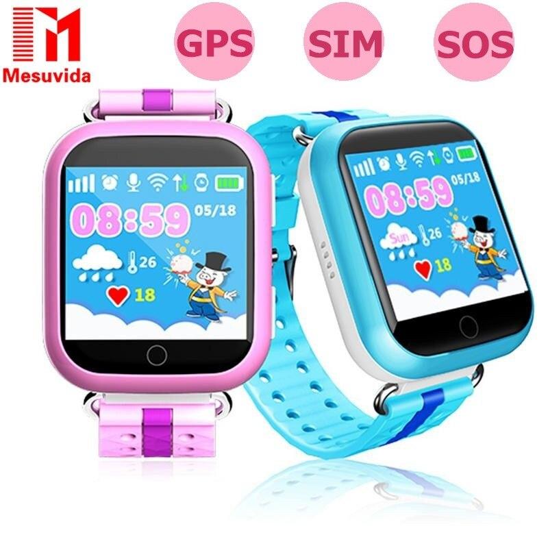 Q750 q100 русский Smart детские часы GPS трекер sos-вызов Wi-Fi Сенсорный экран дети ребенок дети часы телефон для детей pk q50 Q90
