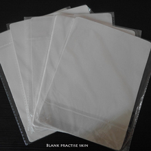 5pcsTattoo Practice Skin Blank Plain 20 X 15cm Practice Skin Sheet For Needle Machine Permanent Makeup Practice Skin Learner Use