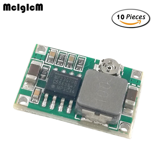 MCIGICM 10pcs Model aircraft power step-down DC DC mini-360 power supply module car power super LM2596 adjustable