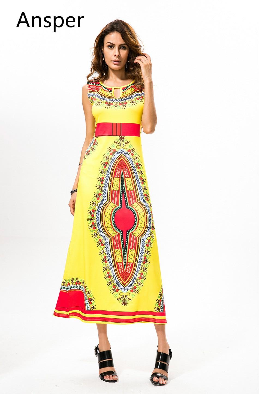 2017 Nouveau Design De Mode tenue africaine Femmes Traditionnelle Africaine  Cire Imprimer Dashiki Lady Long Dress
