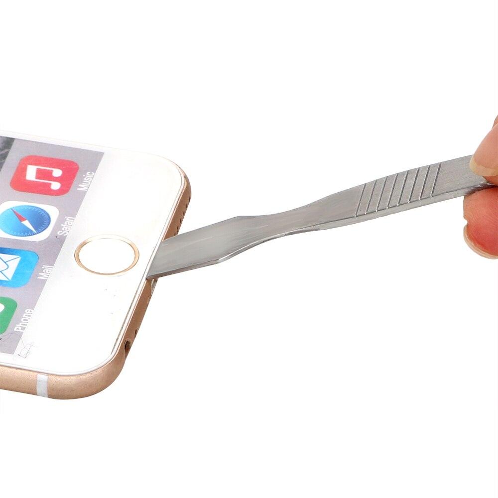 NICEYARD Metal Solder Knife Open Repair Scraper Pry Metal Crowbar Mobile Phone Repair Tools Tin Scraping Mixing Knife