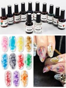 Новые продукты, УФ акварельные чернила, мраморный лак для ногтей, художественный дымчатый цвет, пузырчатая броня, цветной размазывающий гел...