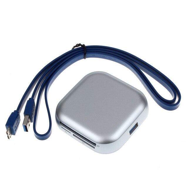 Лучшая Цена USB 3.0 Compact Flash Нескольких Устройство Чтения Карт Памяти CF Адаптер SD TF Карты SL