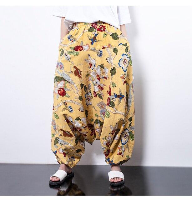 Nepal crotch pants cotton tattoo big yards lantern pants casual collapse pants national wind haul pants