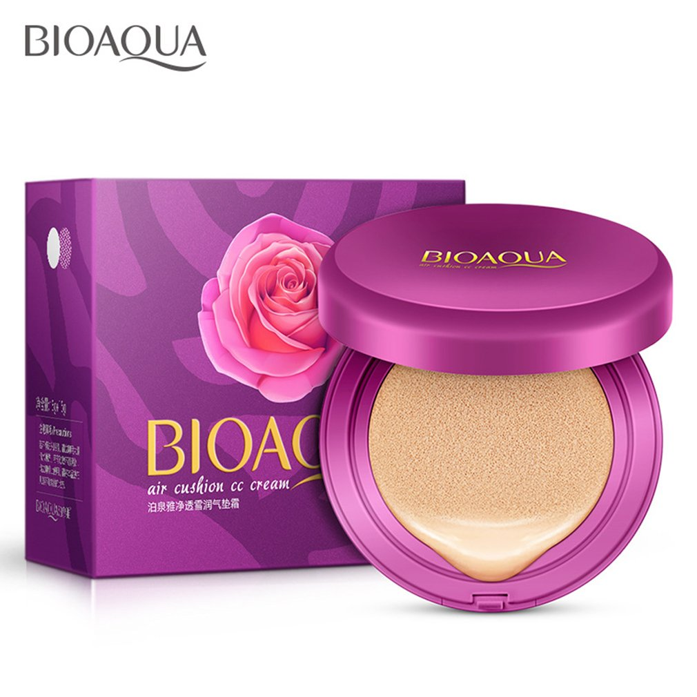 Professional Facial Beauty Makeup Air Cushion CC font b Cream b font Moisturizing Whitening Flawless Cosmetic