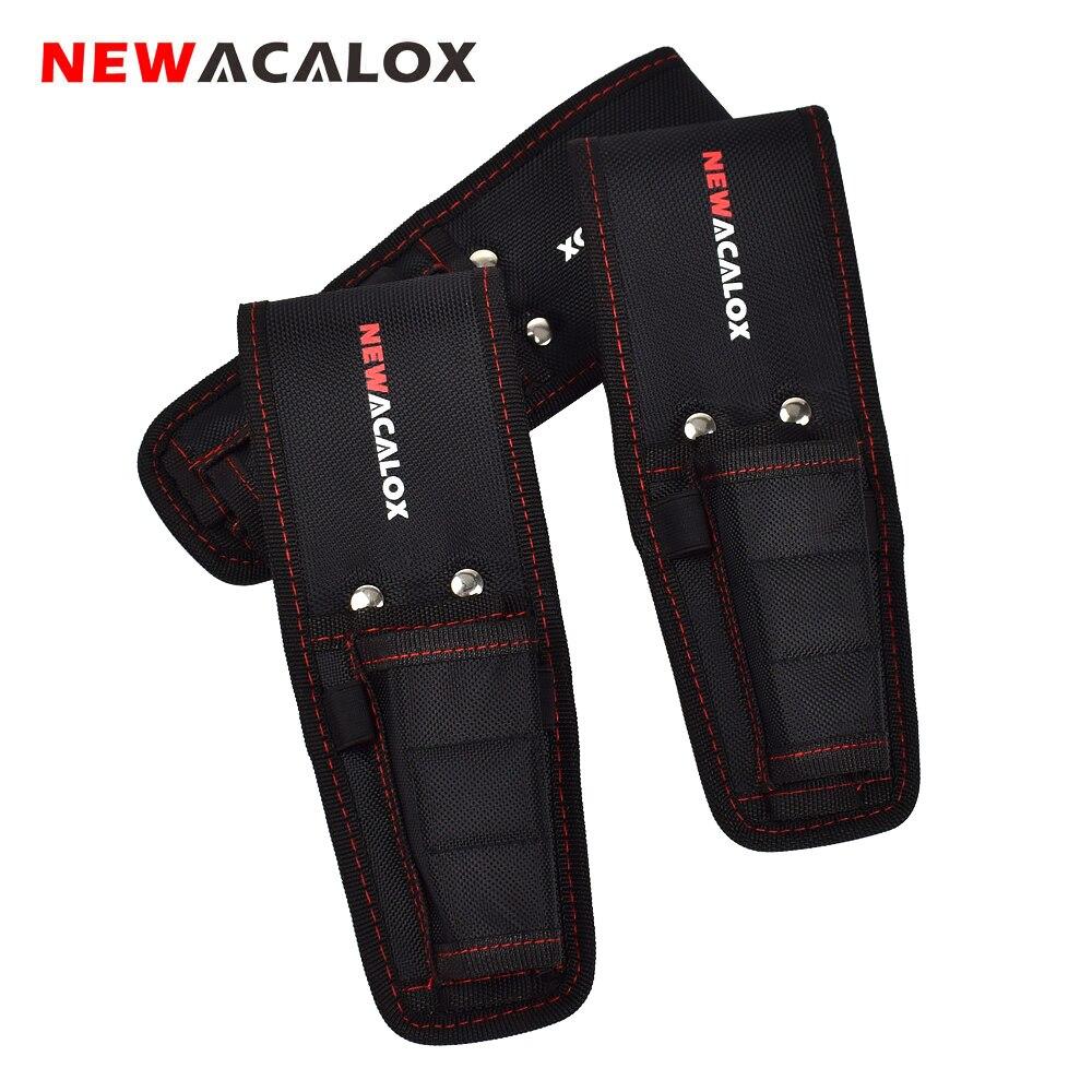 NEWACALOX Magnetic Waist Belt font b Tool b font font b Bag b font Pockets Electrician