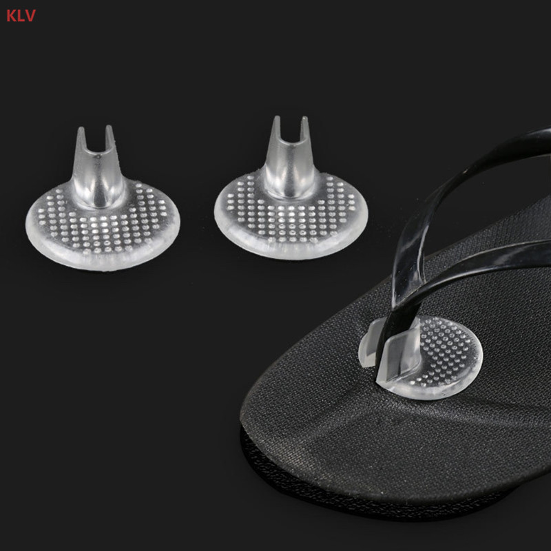 KLV 1 Pair Silicone Forefoot Pads Flip Flops Non Slip Gel Toe Cushion Sandals Pain Relief Soft KLV 1 Pair Silicone Forefoot Pads Flip Flops Non Slip Gel Toe Cushion Sandals Pain Relief Soft