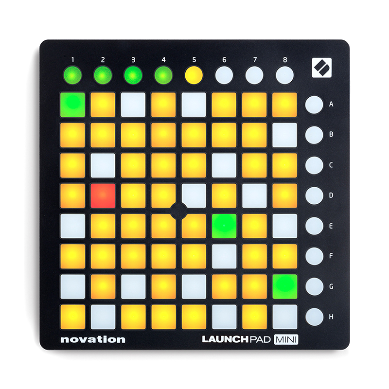 Novation Launchpad Mini MK2 MKII Live MIDI controller USB DJ Stage(China)