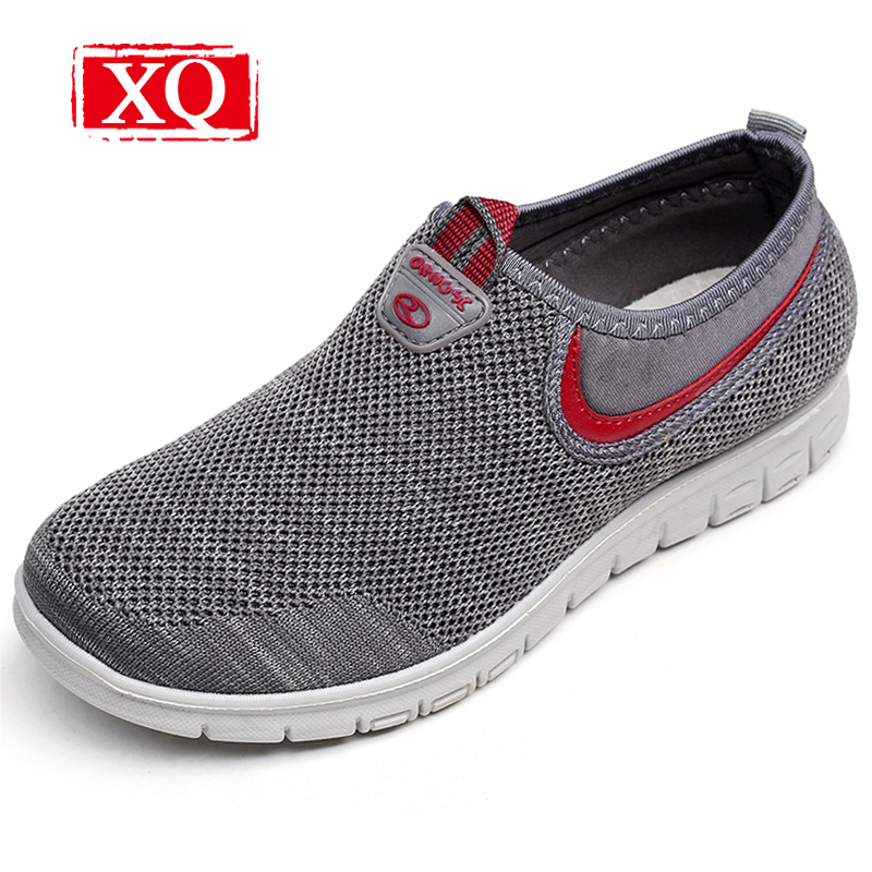XQ 2017 New Lightweight Soft SoleMesh Shoes Women Fashion Breathable Loafers Antiskid Flat Shoes Ladies Casual Slip-on Shoe L138 pamasen new women s casual shoes available women flat shoes woman slip on loafers fashion female woven shoes breathable footwear