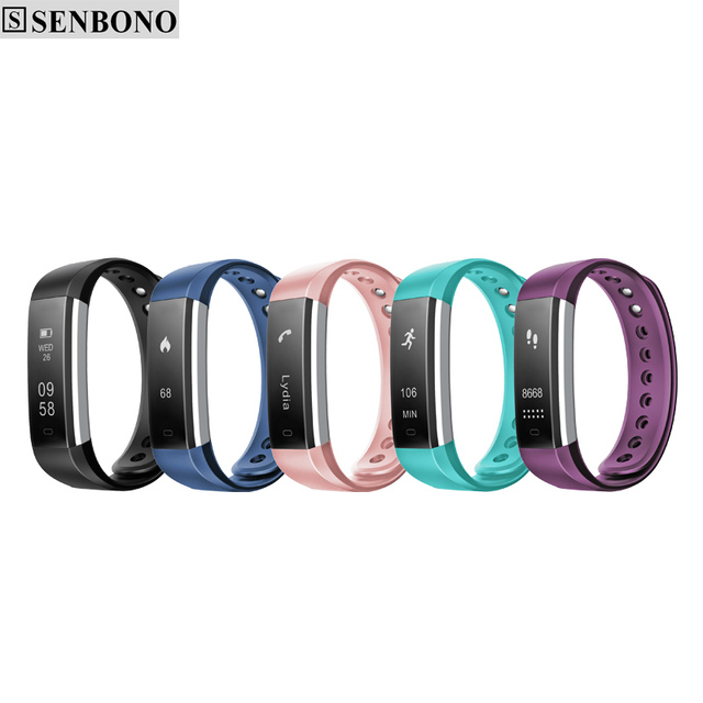 SENBONO SBN115 Bluetooth Sport Smart Wristband Heart Rate Monitor