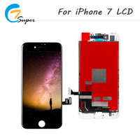 ET Super 2PCS LCD For IPhone 7 LCD Display Touch Screen Digitizer Assembly No Dead Pixel