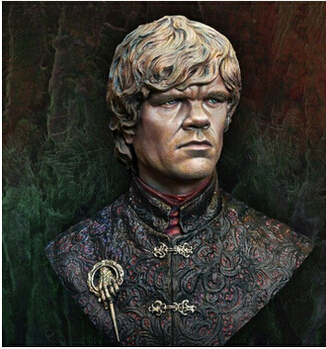 <font><b>1/10</b></font> <font><b>Scale</b></font> Models A Song of Ice and FireTyrion Lannister Resin <font><b>Bust</b></font> Model Free Shipping image