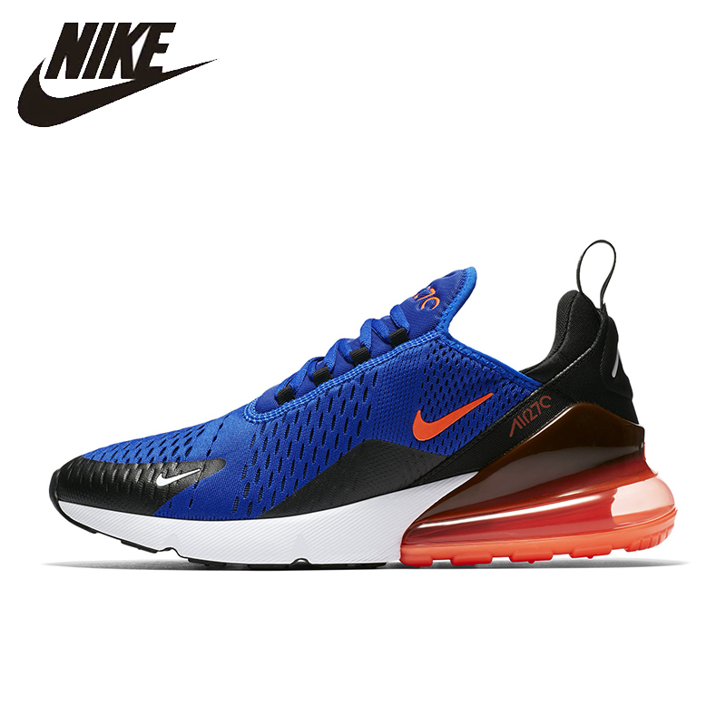 Nike AIR MAX 270 Running Shoes Woman Outdoor Sports Sneakers Original Nike AH8050 nike nike fuelband sports bracelet battery cover green m