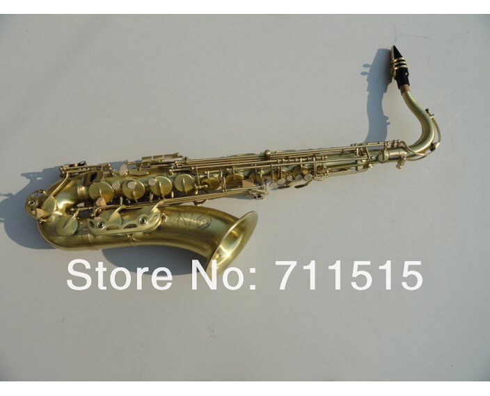 France Henri Saxophone Tenor Selmer Sax Eb Be E Flat Brass Carved 54 Bronze Tenor Saxofone with Gloves Cleaning Cloth Brush alto saxophone selmer 54 brass silver gold key e flat musical instruments saxophone with cleaning brush cloth gloves cork strap