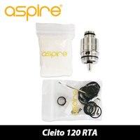 Gốc Aspire Cleito 120 RTA Hệ Thống Dual cuộn dây và Đơn Coil được xây dựng RTA Adapter kit cho Cleito 120 Atomizer