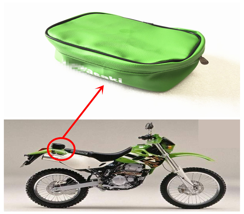 US $6 88 |Motorcycle kit bag tool bag for kawasaki for suzuki for Honda  KLX250 DRZ400 DR250 XR250 KLE250 KDX250-in Covers & Ornamental Mouldings  from