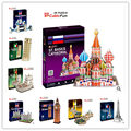 Medium Size Cubic Fun 3D Puzzle Toys Series C Big Ben Leaning Tower of Pisa Titanic Dome of the rock Tower Bridge Paper Model