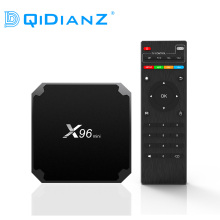 (MRW:Entrega rapida) DQiDianZ X96mini Android 7.1 X96 mini Smart TV BOX S905W Quad Core compatible con 2.4G inalámbrico WIFI TV caja  (China)