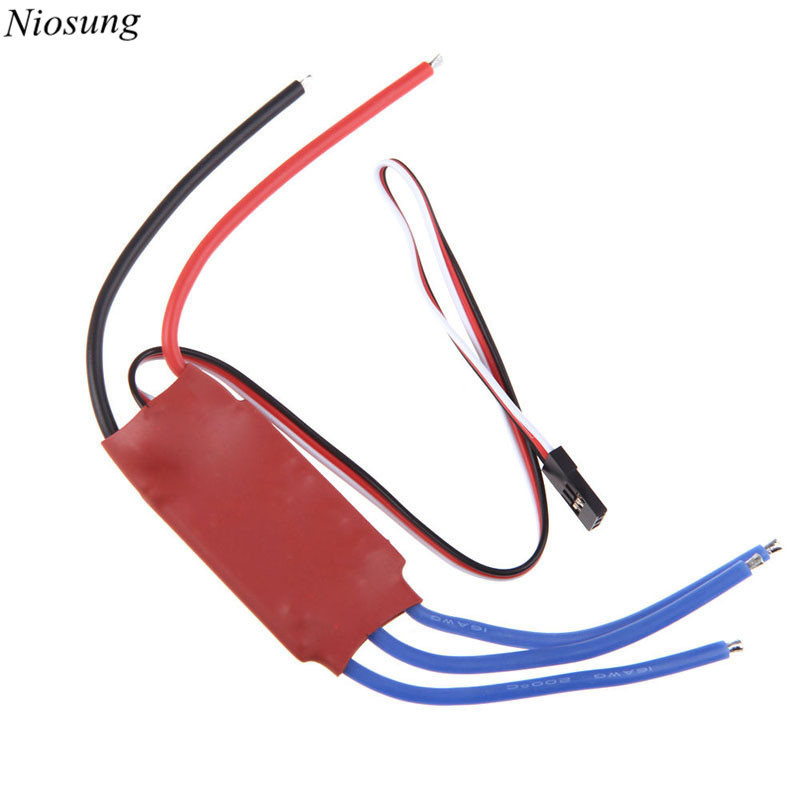 Niosung New SimonK 30A 2-3S Brushless ESC With 5V 3A ESC For Helicopter Quadcopter