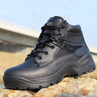2016 Winter Men Military Tactical Boots Desert Combat Outdoor Bot Army Hiking Travel Botas Leather