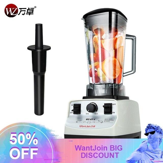 Da classe comercial profissional triturador de smoothies eavy espremedores de frutas automático de Frutas Triturador de Alimentos processador de alimentos sorvete Icesand
