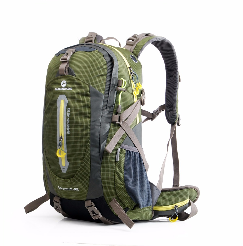 Maleroads 40l mochila de senderismo senderismo mochila mochila de viaje bolsa de