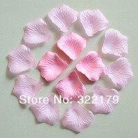 1000pcs Light Silk Rose Petals Wedding Party Decor Pink Confetti Favor Rose Petals