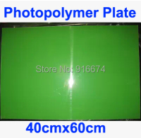 Free Shipping 1pc 40cmx60cm Photopolymer Plate Stamp Making DIY Letterpress Polymer Stamp Maker Systerm