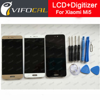Xiaomi Mi5 LCD Display Touch Screen Tools 100 Original 1920X1080 FHD 5 15inch Digitizer Assembly Replacement