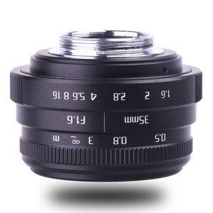 Image 3 - Neue kommen fuji eine 35mm f1.6 C mount kamera CCTV Linsen II für N1 fuji film fuji NEX Micro 4/3 EOS B