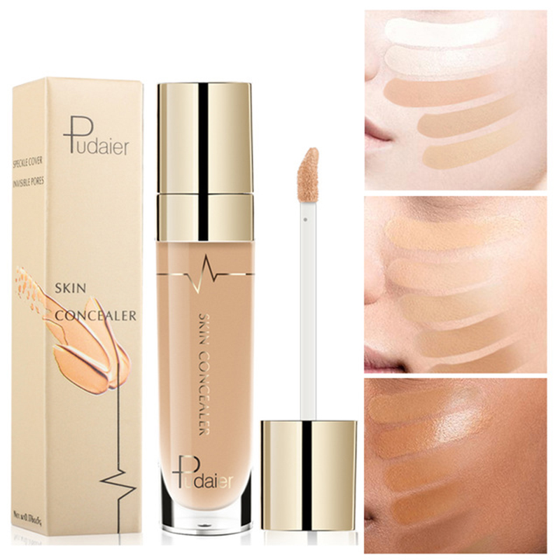 Pudaier 22 Colors Liquid Concealer Makeup Face Base Foundation Waterproof Corrector Hides Wrinkle Dark Circle Contour Cosmetics image