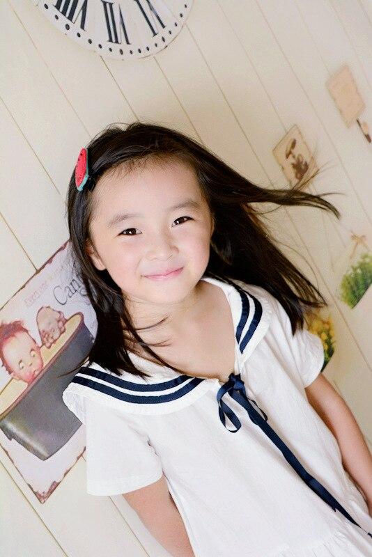 korea Handmade Fabric watermelon Princess Hair Accessories Hair Clip Flower Crown Hairpin Elastic Hair Band Headbands 4