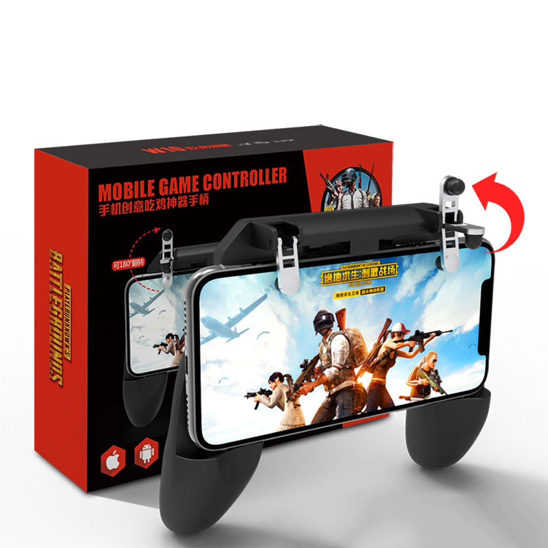 Image 5 - 3 in 1PUBG Smart Phone Mobile Gaming Trigger Pubg Controller Fire Button Aim Key L1 R1 Gaming Joysticks Mobile Gamepad-in Gamepads from Consumer Electronics