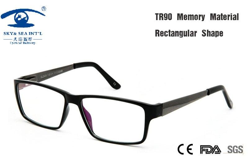 52ebb51262384 Óculos Frames oculos de grau Lerdo do vintage Unisex Lente Clara Óculos  Mulheres TR90 Armações de óculos Homens Quadro Quadrado Preto
