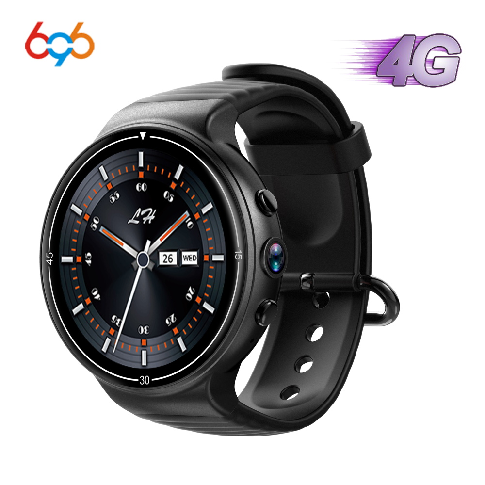 696 nouveau I8 4G Android montre intelligente hommes Sport WIFI GPS fréquence cardiaque carte Sim 2MP Fitness Tracker Bluetooth 4.0 pour Android/IOS montre