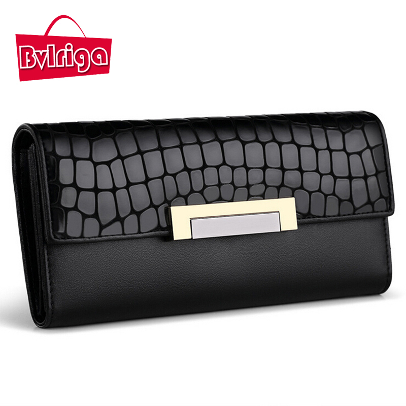 BVLRIGA Women wallets female Long Clutch wallet card holder passport cover women Coin purse luxury brand Handy phone money bag пневмоинструмент