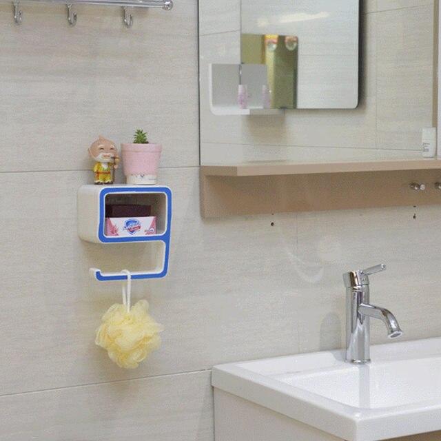 Online Shop Bathroom Towel shelves Number 9 Shape Soap Holder Box ...