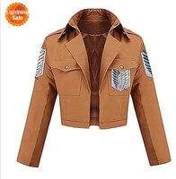 Aanval op titan shingeki geen kyojin eren jager scouting corps cosplay jacket