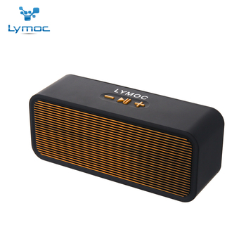 LYMOC Mini Wireless Speaker Bluetooth Portable Sound Box HD MIC Phone Handsfree for iPhone Android USB2.0 TF MP3 Music Play