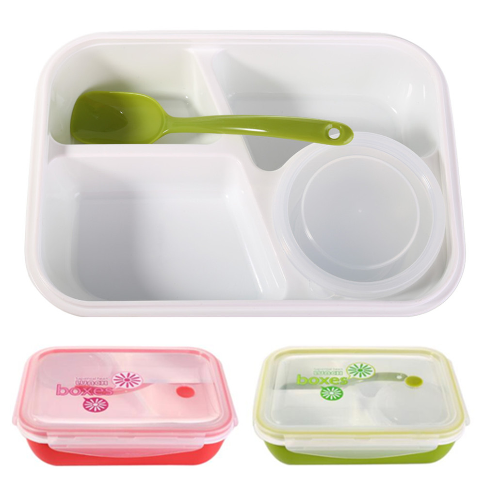 Compartments portable multifunctional boxes food safe