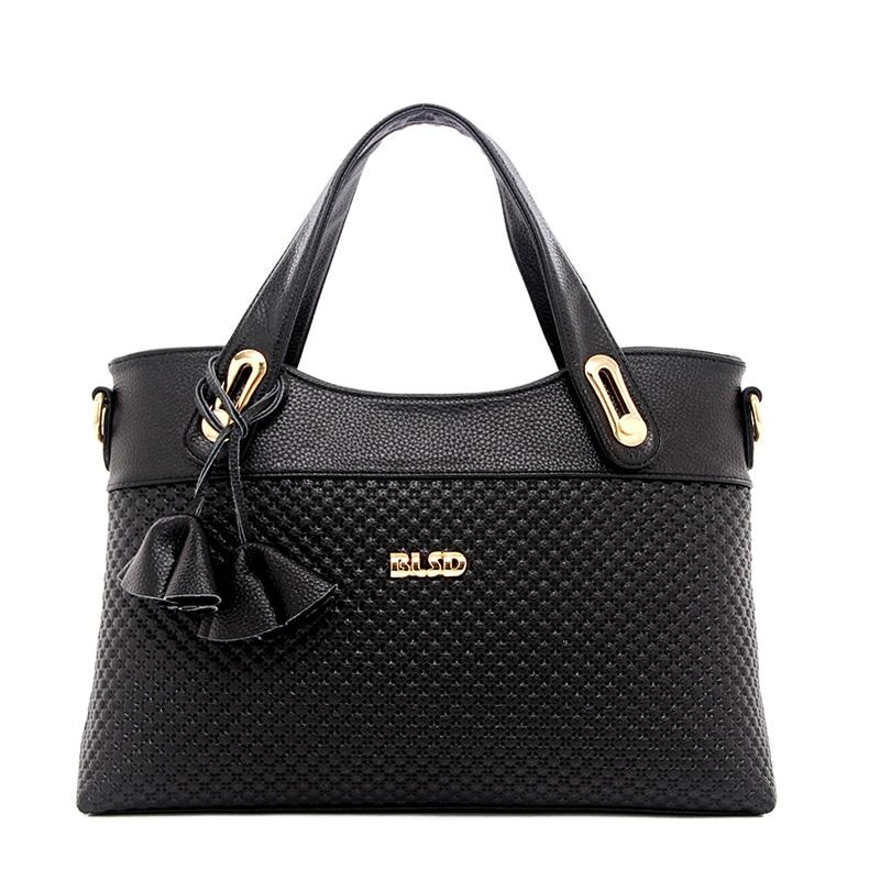 ФОТО 2017 Fashion PU Leather Women Messenger Bag Women's Solid Handbags Vintage Casual Lady Bag Solid bolsa feminina  Black ST9225