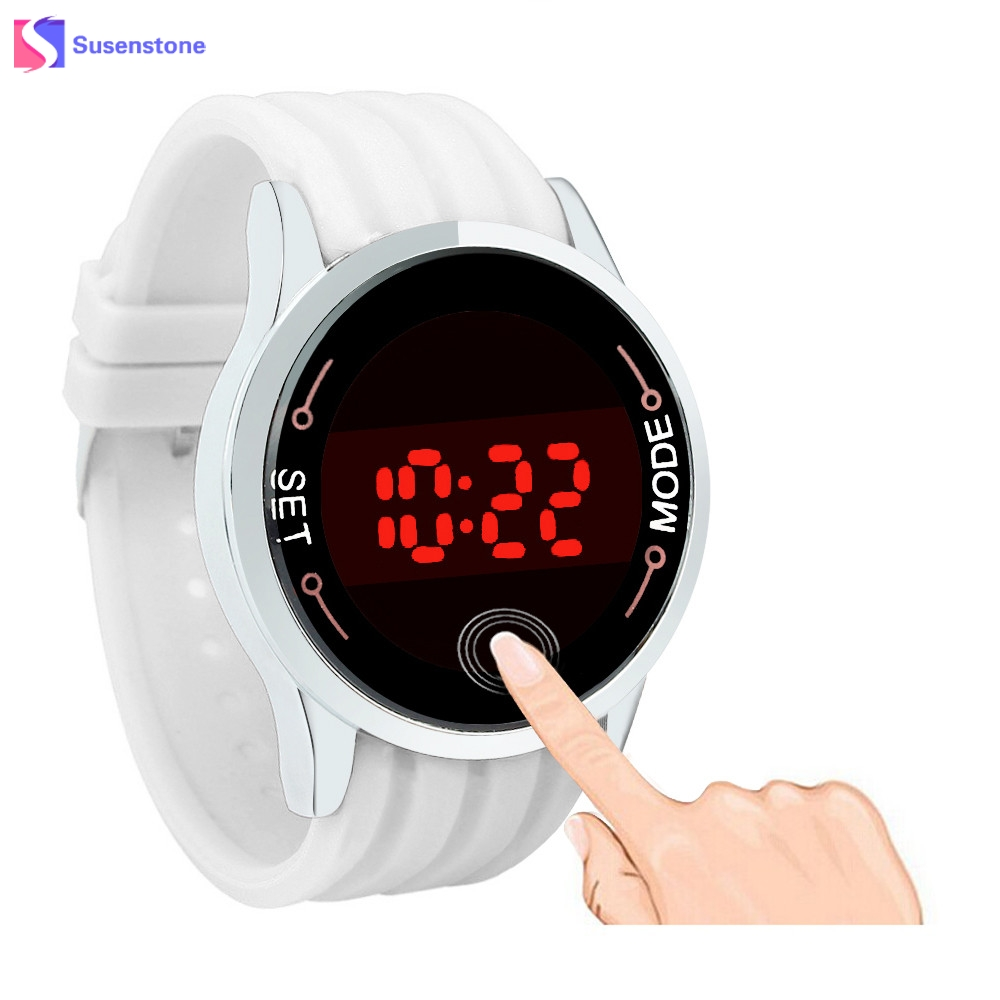 2017 Fashion Sale Women and Men's Military Sports Watch Unisex Silicone LED Touch Screen Day Date Wristwatches Relogio Masculino popular black skull sports watch silicone bands touch screen led watch women mens free shipping gitt for lovers couple