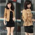 Las mujeres chaqueta de Otoño e invierno ropa nuevas Mujeres Coreanas OL Delgado arco chaqueta de traje pequeño envío libre